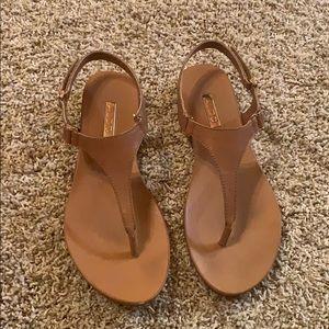 ALDO Leather T-strap Sandals